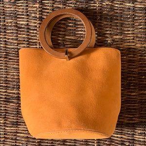 MANGO Suede Bucket Bag